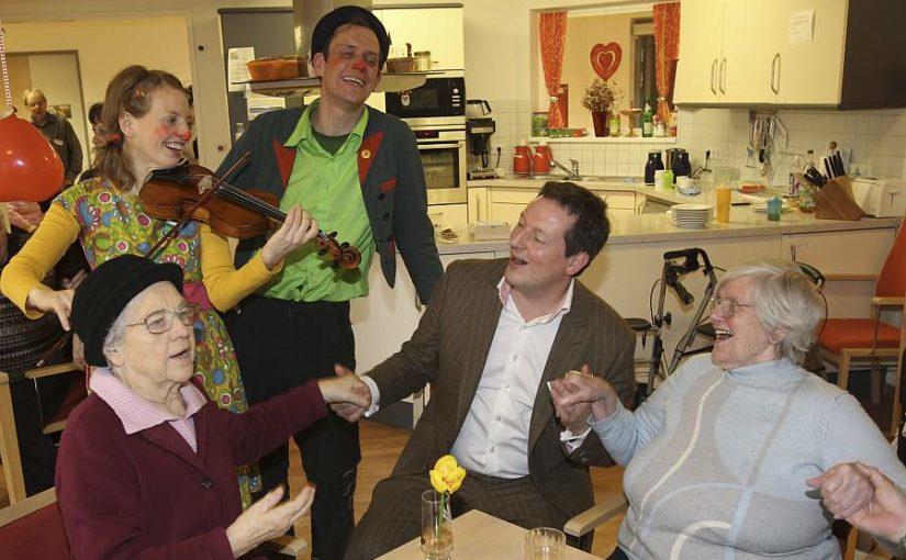 Dr. Eckart von Hirschhausen besucht Clownskontakt!